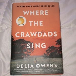 NEW Where The Crawdads Sing Hardcover Book